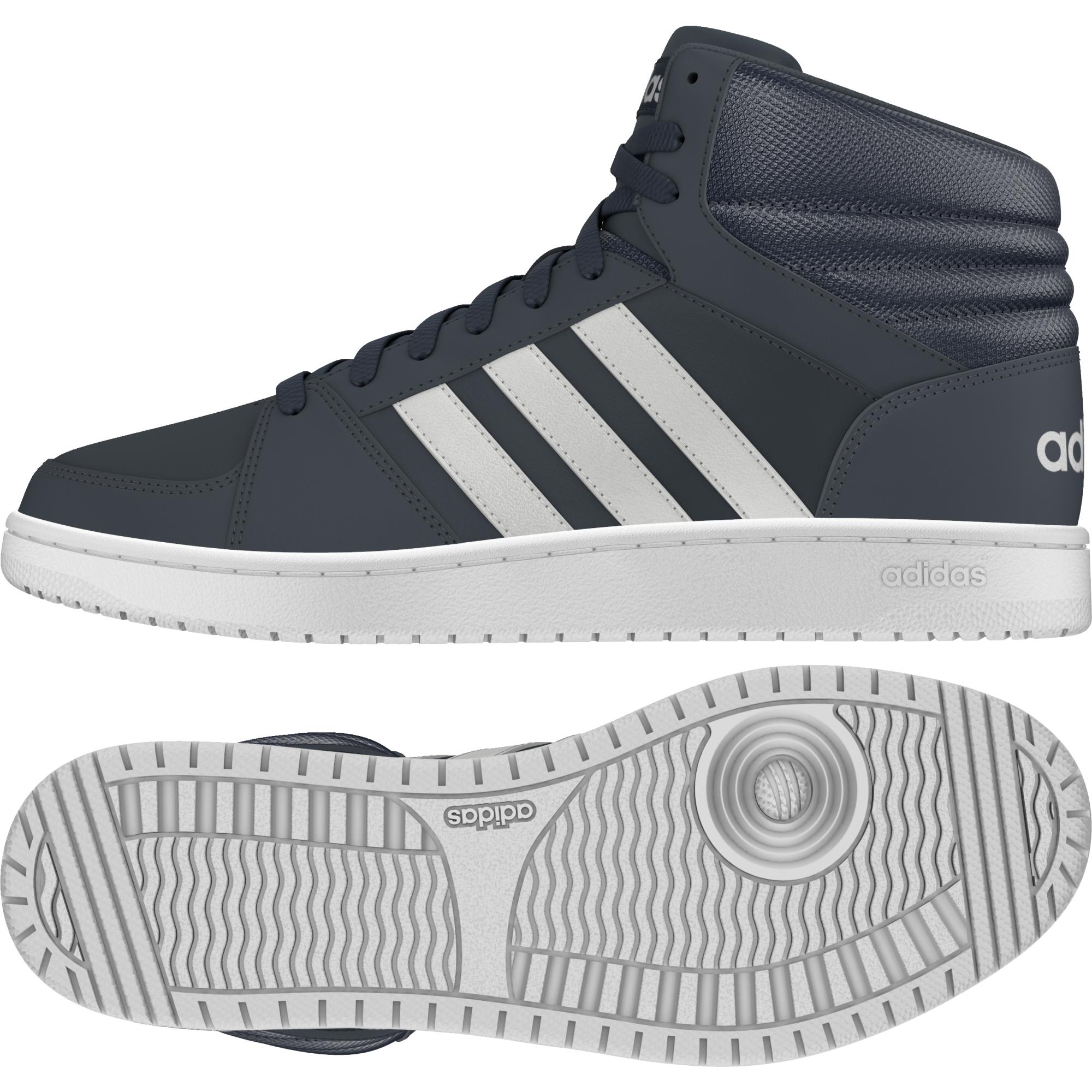 0973d7cfad Adidas Hoops Mid férfi utcai cipő , Férfi cipő   utcai cipő , adidas_neo , Adidas  Hoops Mid férfi utcai cipő