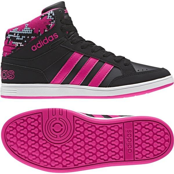 03d81d57dd Adidas Hoops Mid K kamaszlány utcai cipő , Lány Gyerek cipő   utcai cipő ,  adidas_neo , Adidas Hoops Mid K kamaszlány utcai cipő